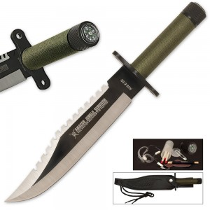 Amazon Jungle Survival knife